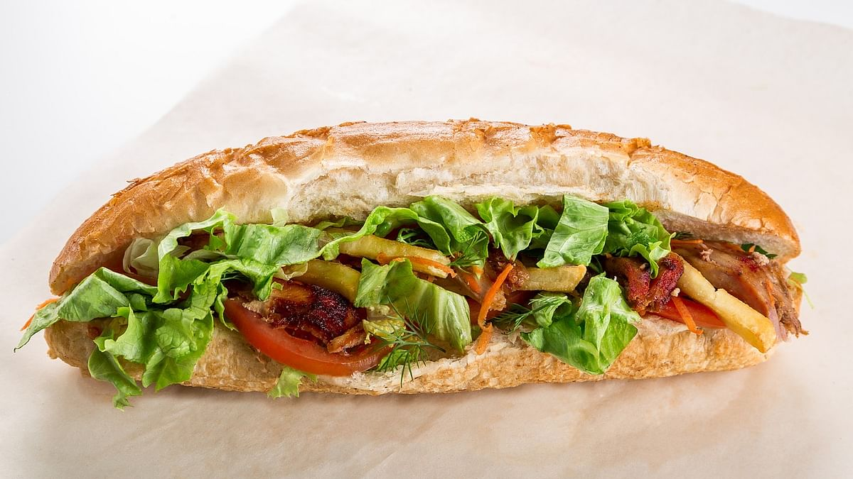 Vegetable Hot Dog