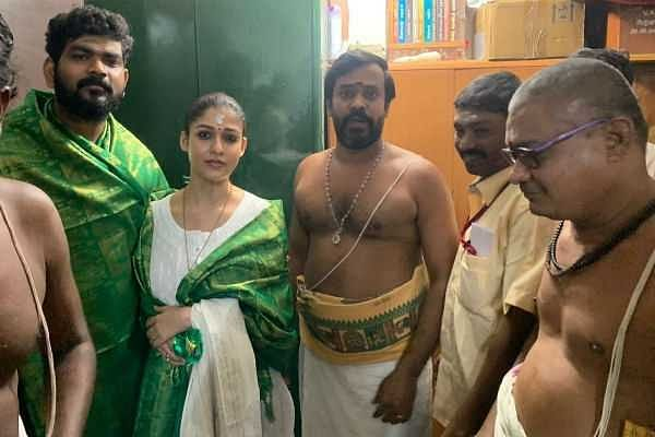 விக்னேஷ் சிவனுடன் நயன்தாரா