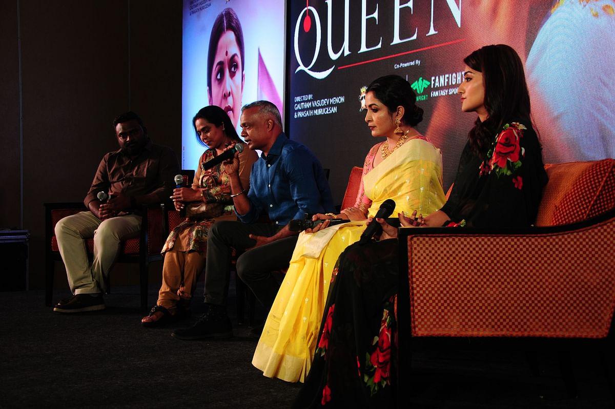 Queen Webseries Pressmeet