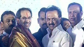 உத்தவ் தாக்கரே, ஸ்டாலின்