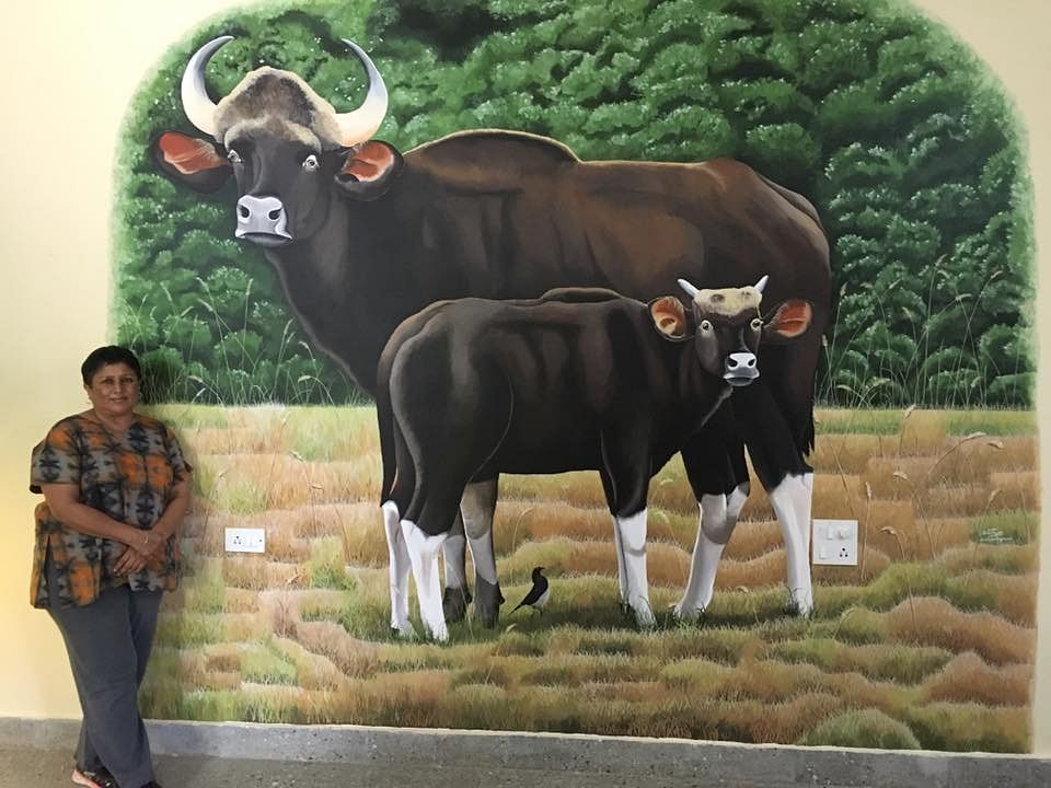 sunitha's painting
