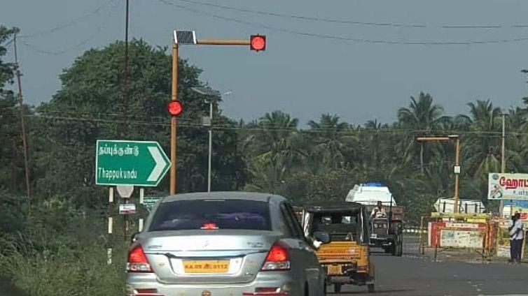 தேசிய நெடுஞ்சாலை - வீரபாண்டி