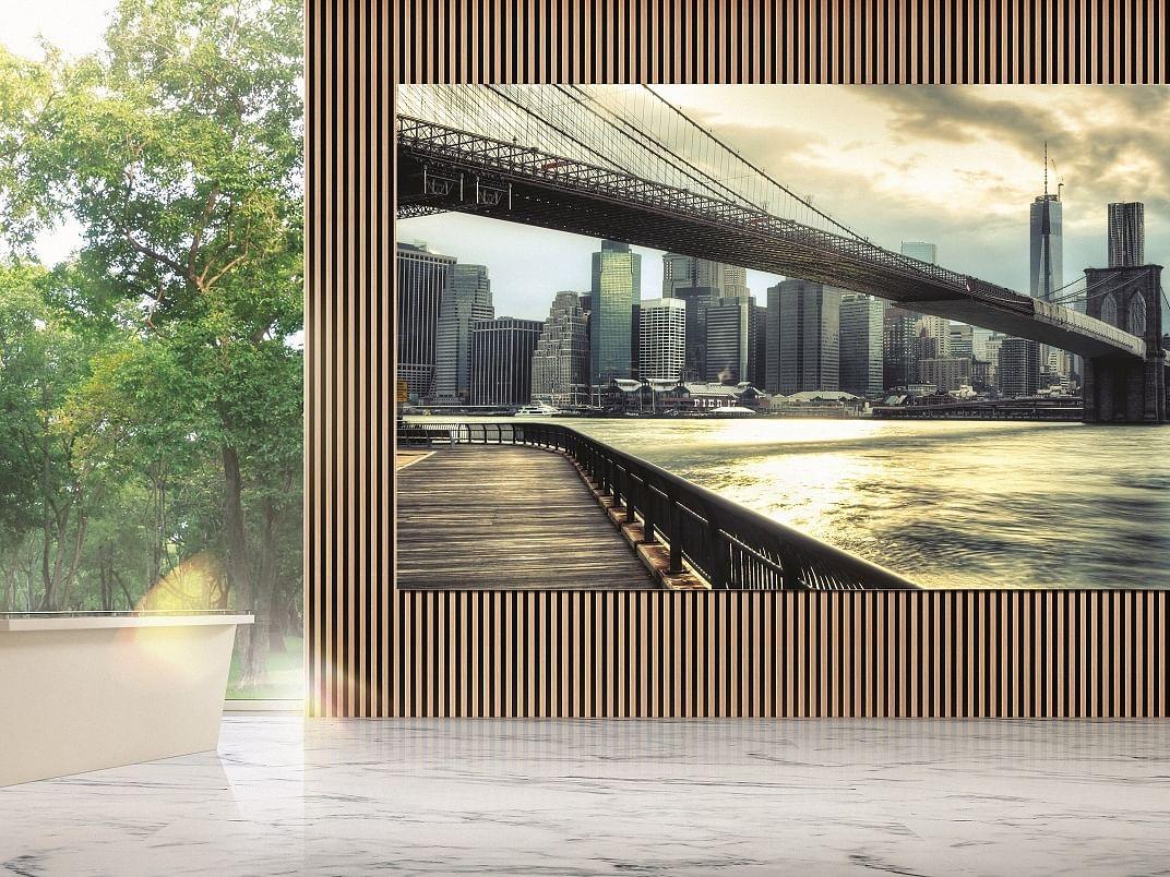 `இதன் விலை ரூ.12 கோடி' - இந்தியாவில் அறிமுகமாகும் சாம்சங்கின் `தி வால்'