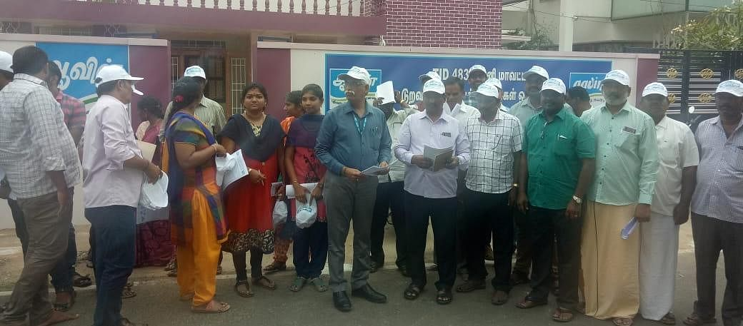 Theni Aavin Officials