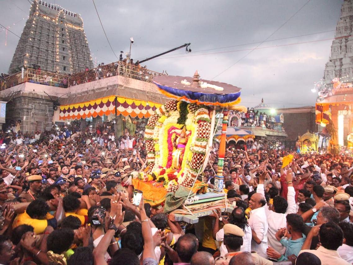 """திருவண்ணாமலை: """"பௌர்ணமி கிரிவலத்திற்கு அனுமதியில்லை!""""- மாவட்ட ஆட்சியர்"""