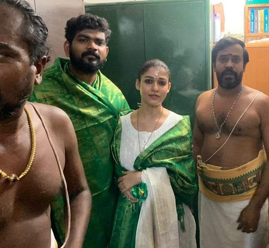 விக்னேஷ் சிவன் மற்றும் நயன்தாரா