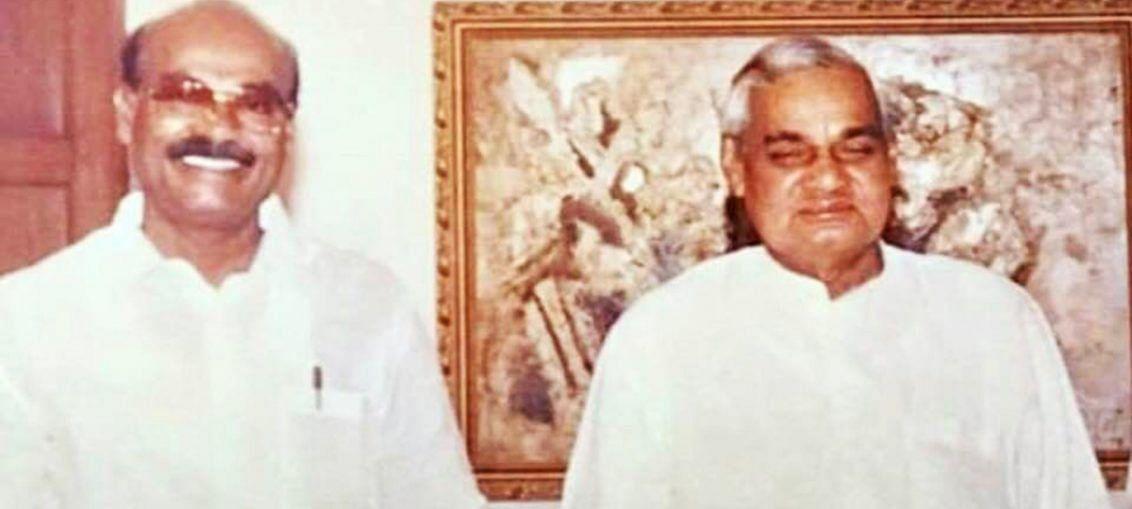 வாஜ்பாயுடன் ராமதாஸ்