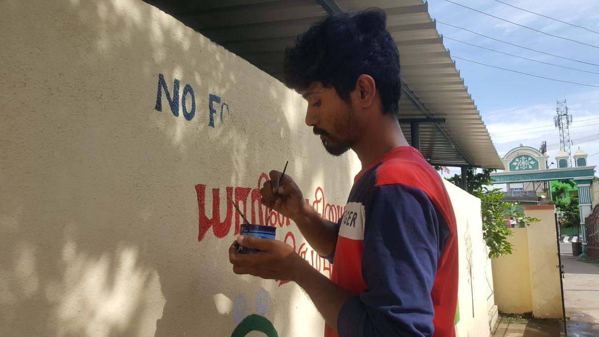youngsters awareness painting