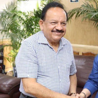 Minister Harsh vardhan