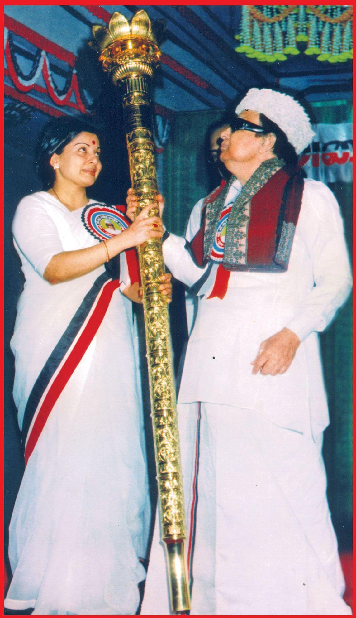 எம்.ஜி.ஆர் - ஜெயலலிதா