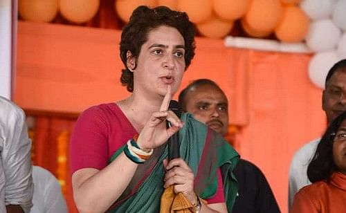 பிரியங்கா காந்தி
