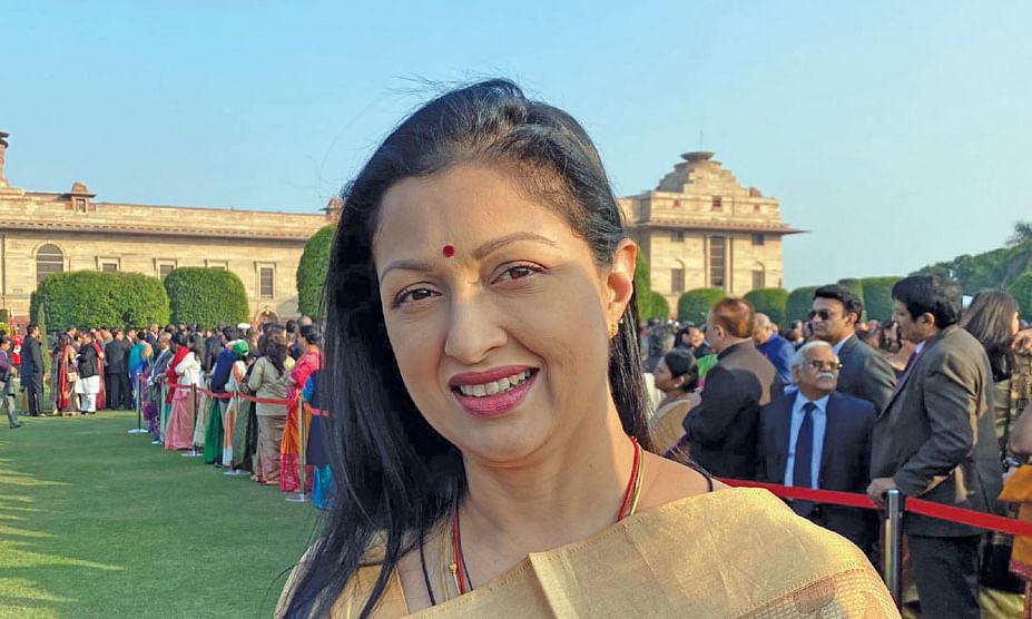 ராஷ்டிரபதி பவனில் கௌதமி