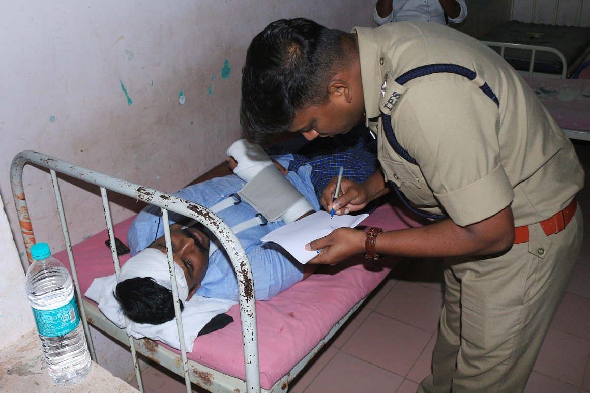 போலீஸ் எஸ்.பி விசாரணை