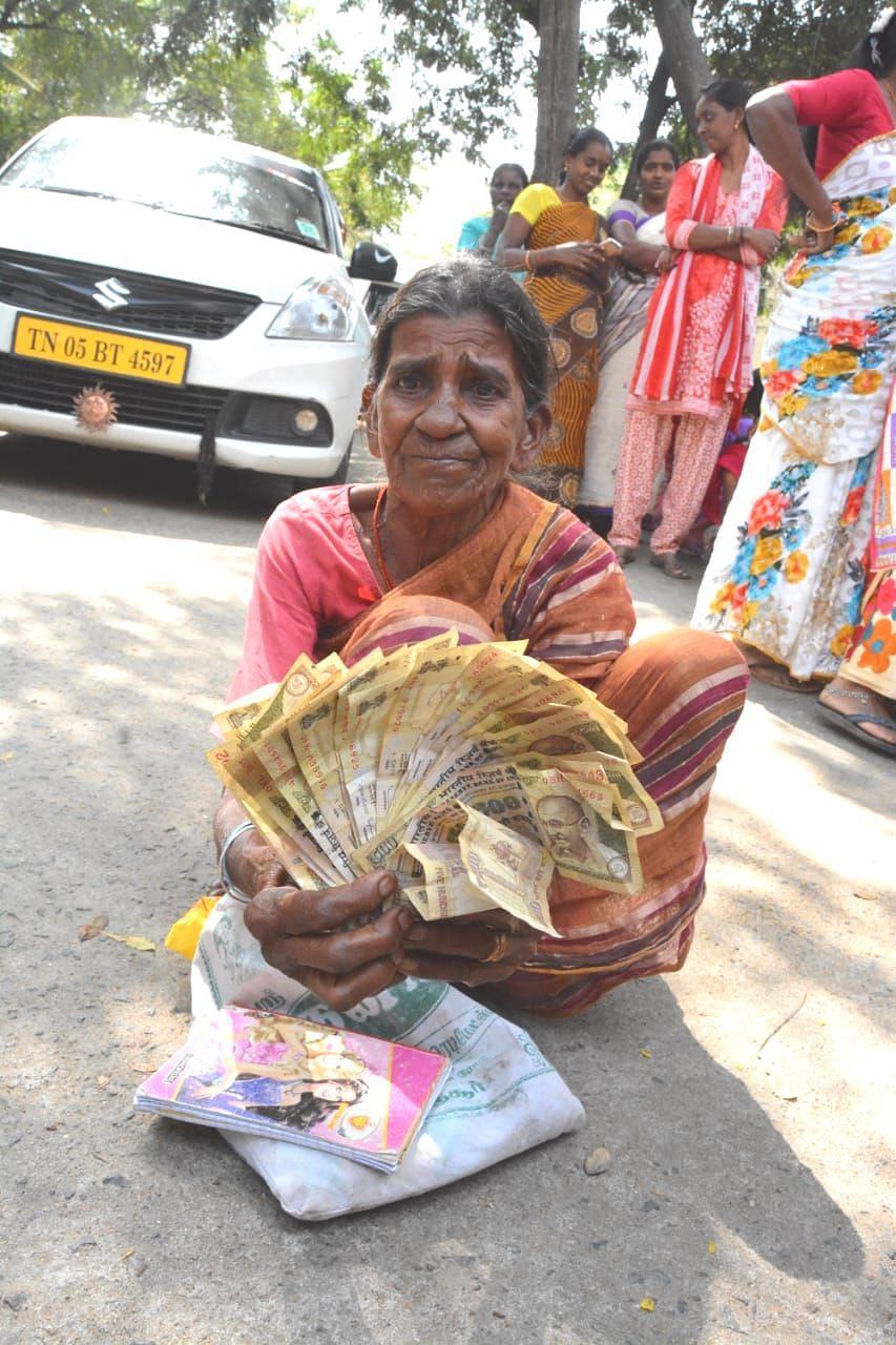 மூதாட்டி புவனேஸ்வரி