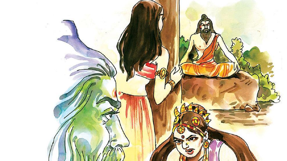 ராவணன் பிறந்த கதை