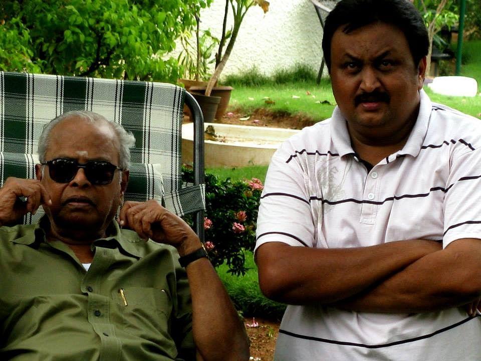 Ravikanth with K. Balachander