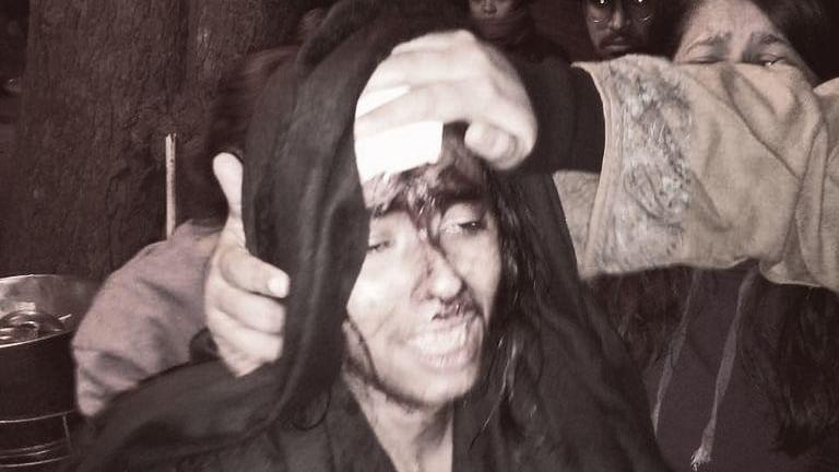 ஜே.என்.யூ-வில் மாணவர்கள் மீது தாக்குதல்