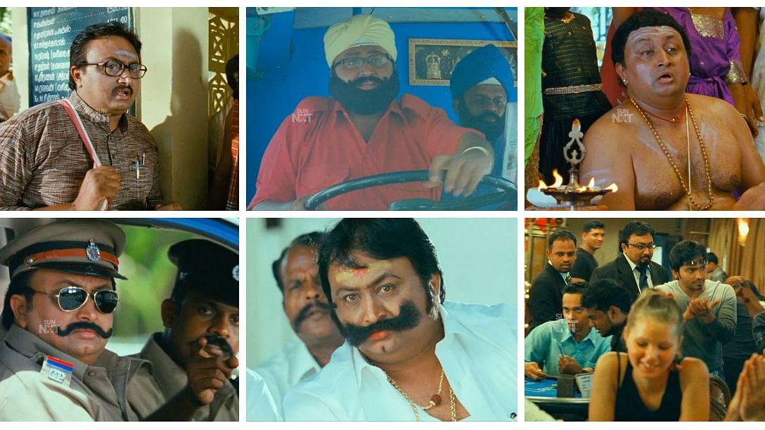 Ravikanth getups in 'Goa' movie