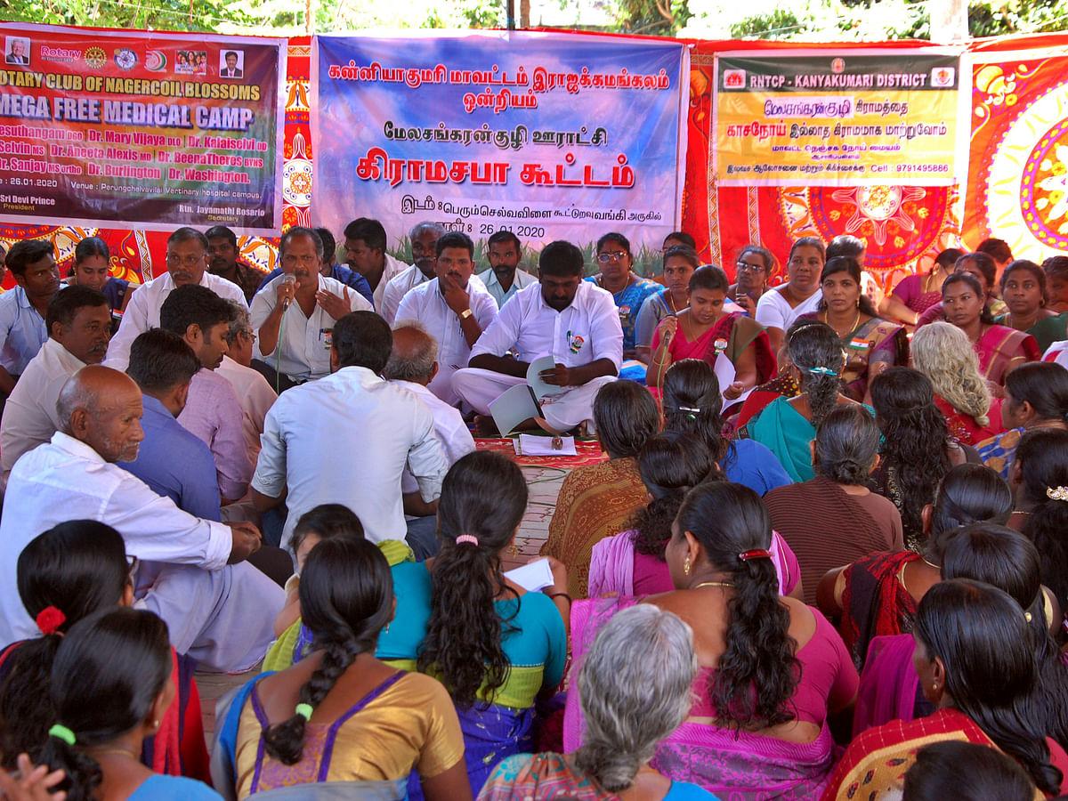 கிராமசபா கூட்டம் எப்படி நடைபெறுகிறது... ஸ்பாட் விசிட்... #PhotoStory