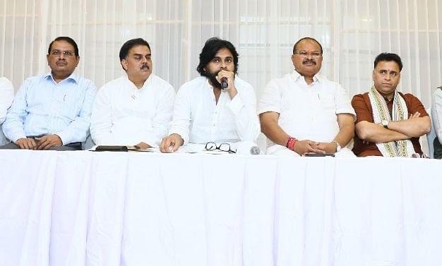 ஜனசேனா - பா.ஜ.க கூட்டணி