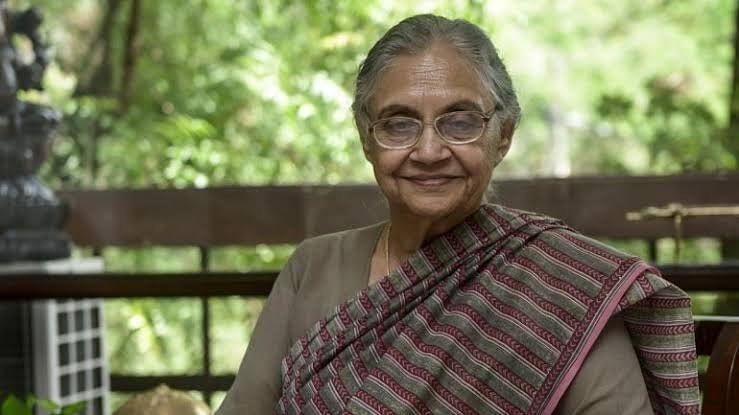 மறைந்த டெல்லி முன்னாள் முதல்வர் ஷீலா தீக்ஷித்