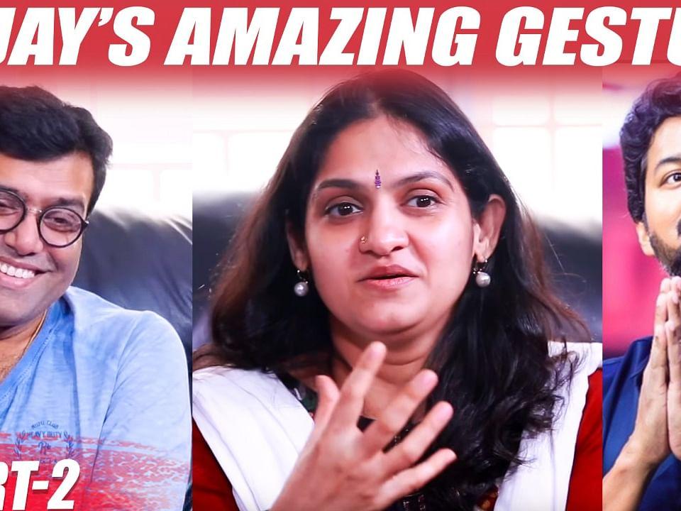 ``Vijay's Unbelievable Act left me Stunned!'' - Tippu & Harini Interview Part 2