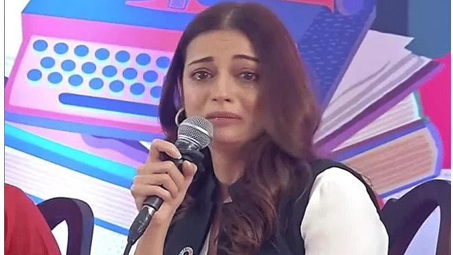 உடைந்து அழுத நடிகை தியா மிர்ஷா