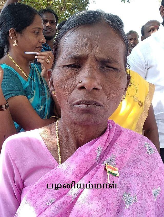 ஊராட்சிமன்றத்  தலைவர் பழனியம்மாள்