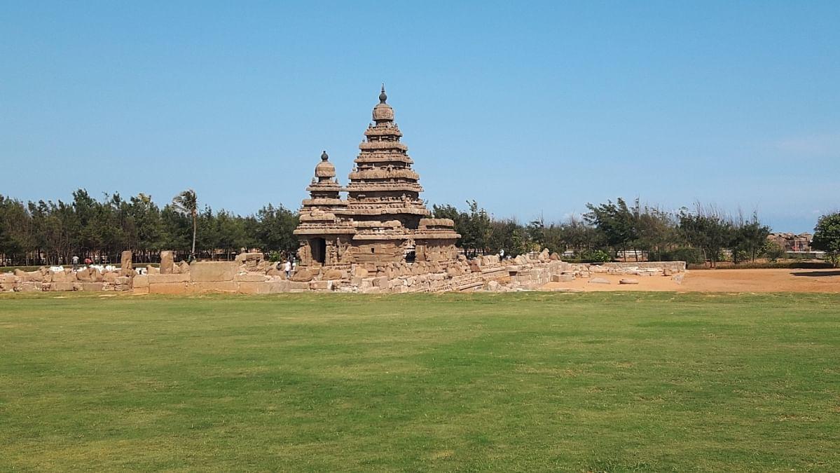 மாமல்லபுரம் கடற்கரை கோயில்