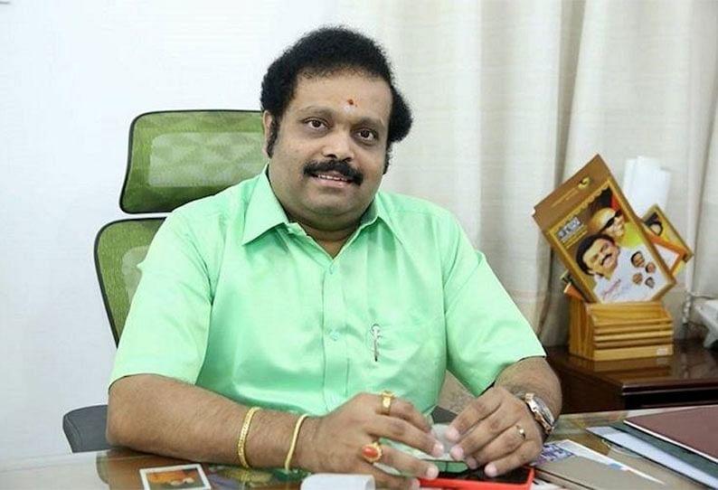 தி.மு.க எம்.பி கதிர்ஆனந்த்