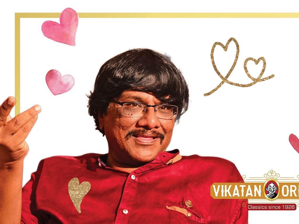 """``நம்மையே மீறுகிற ஒரு சாகசம்தான் காதல்!"""" - கவிஞர் மனுஷ்யபுத்திரன் #VikatanOriginals"""