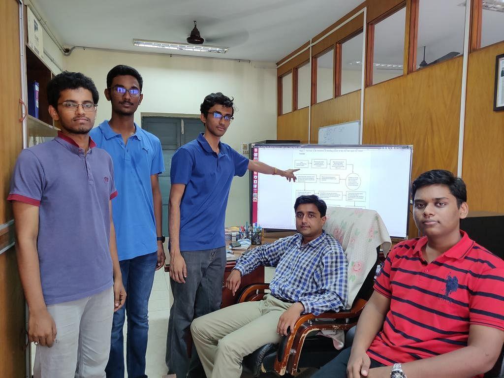 Prof. Nandigana and Team