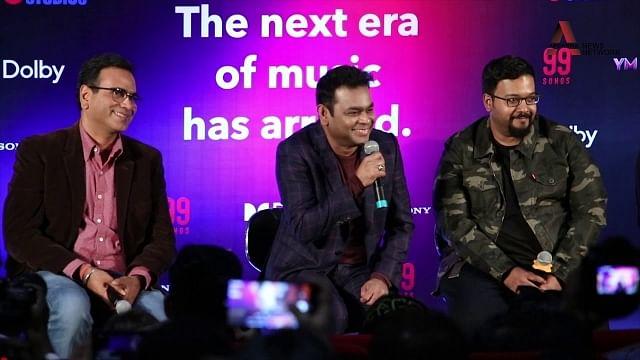 A.R.Rahman at 99 songs movie press meet