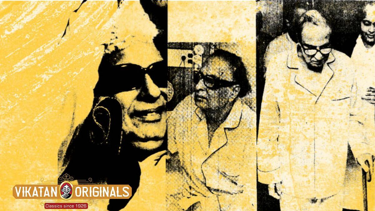 1985-ல் சிகிச்சை முடிந்து தமிழகம் திரும்பிய எம்.ஜி.ஆர்