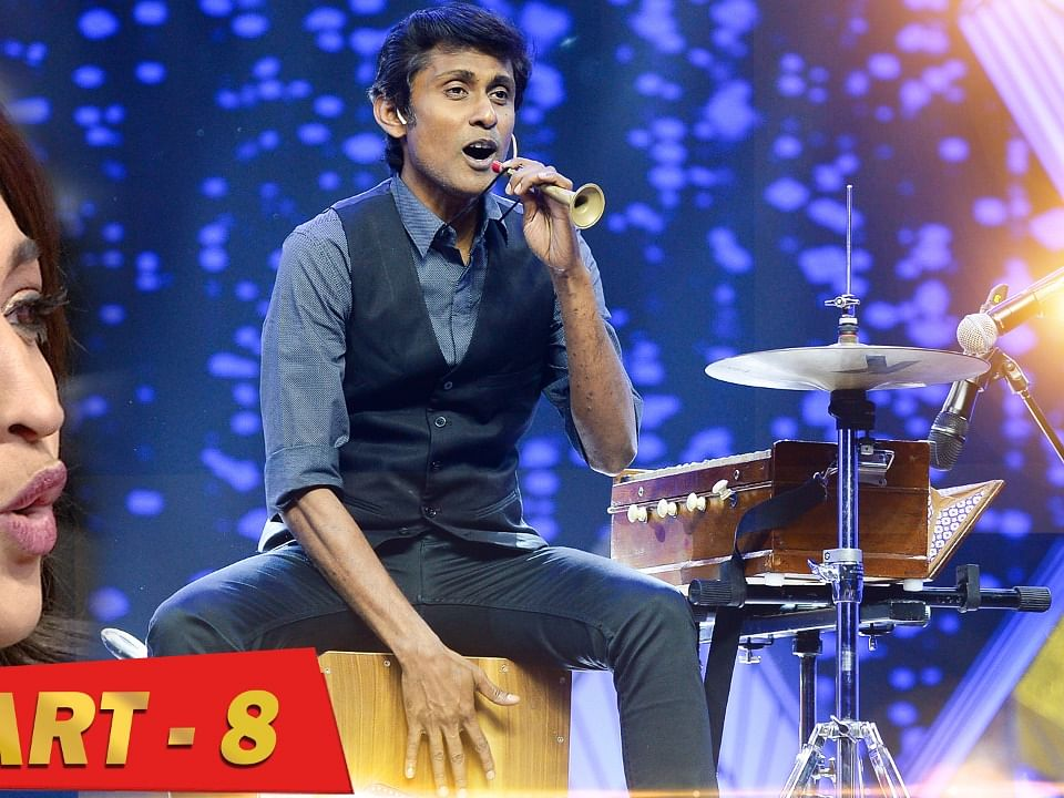 Live performance of Alexander Babu - Ananda Vikatan நம்பிக்கை விருதுகள் 2019 - Part 8