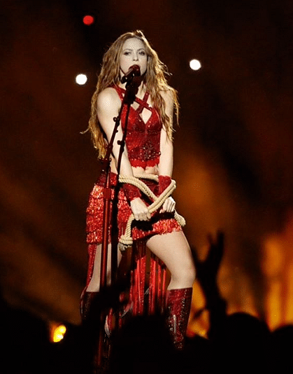 Shakira in Superbowl