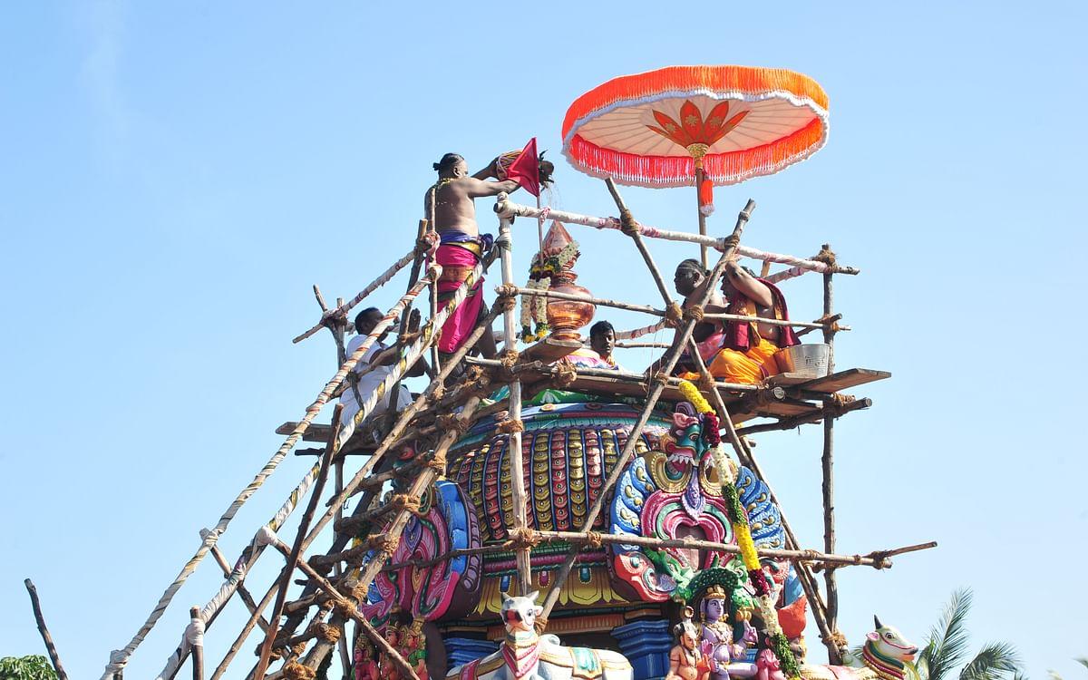 கோலாகலமாய் நடந்தேறிய திருவான்மியூர் மருந்தீஸ்வரர் கோயில் கும்பாபிஷேகம்!