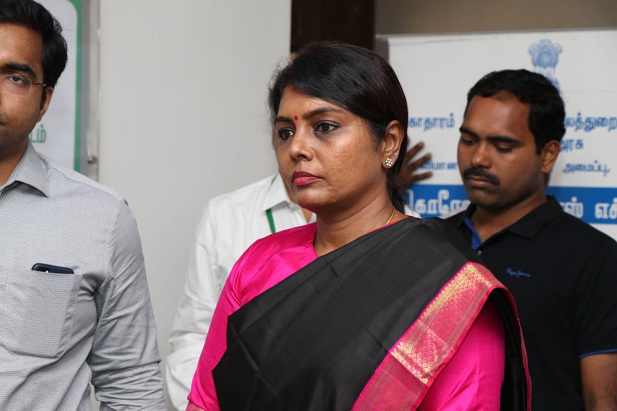 தமிழக சுகாதாரத்துறை செயலர் பீலா ராஜேஷ்