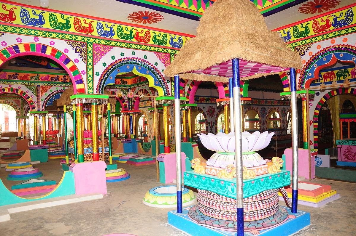 மருந்தீஸ்வரர் திருக்கோயில் யாகசாலை