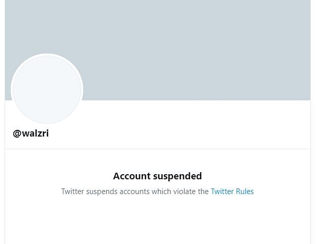 Suspended Account