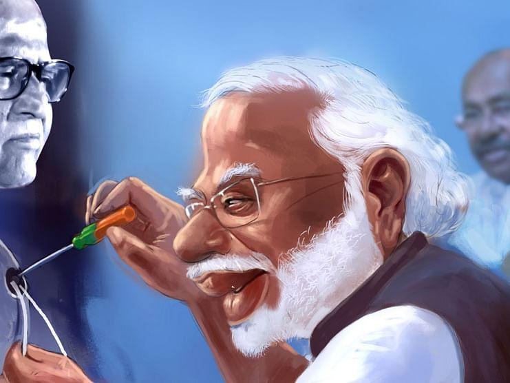 மிஸ்டர் கழுகு: 'மேக் இன் தமிழ்நாடு' - ரஜினியைச் செதுக்கும் மோடி!