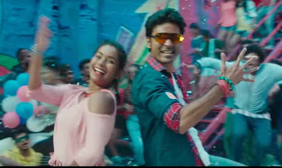 dhanush and dancer bindhu