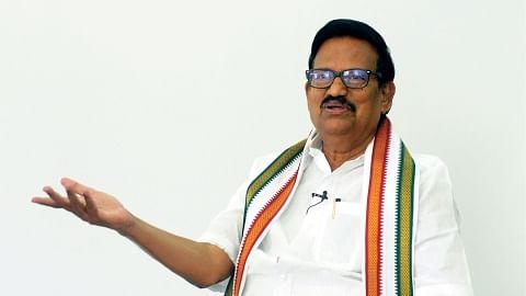 தமிழக காங்கிரஸ் தலைவர் கே.எஸ்.அழகிரி