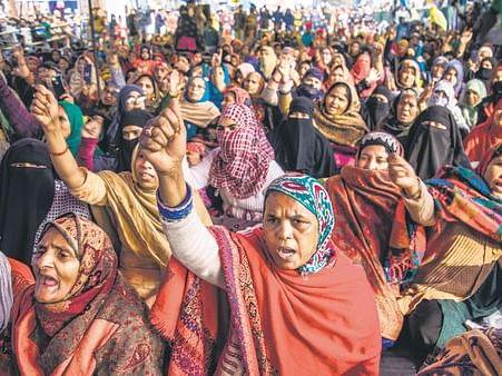 `இசைக் கச்சேரி களைகட்டும் போராட்டக்களம்!' - சி.ஏ.ஏ-வுக்கு எதிராக ஷாஹீன்பாக் பெண்கள்