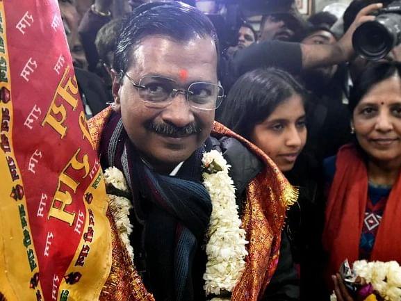 பி.ஜே.பி. பிரசாரத்தை முறியடித்து வெற்றி... மிதமான இந்துத்துவ வாதியா கெஜ்ரிவால்?