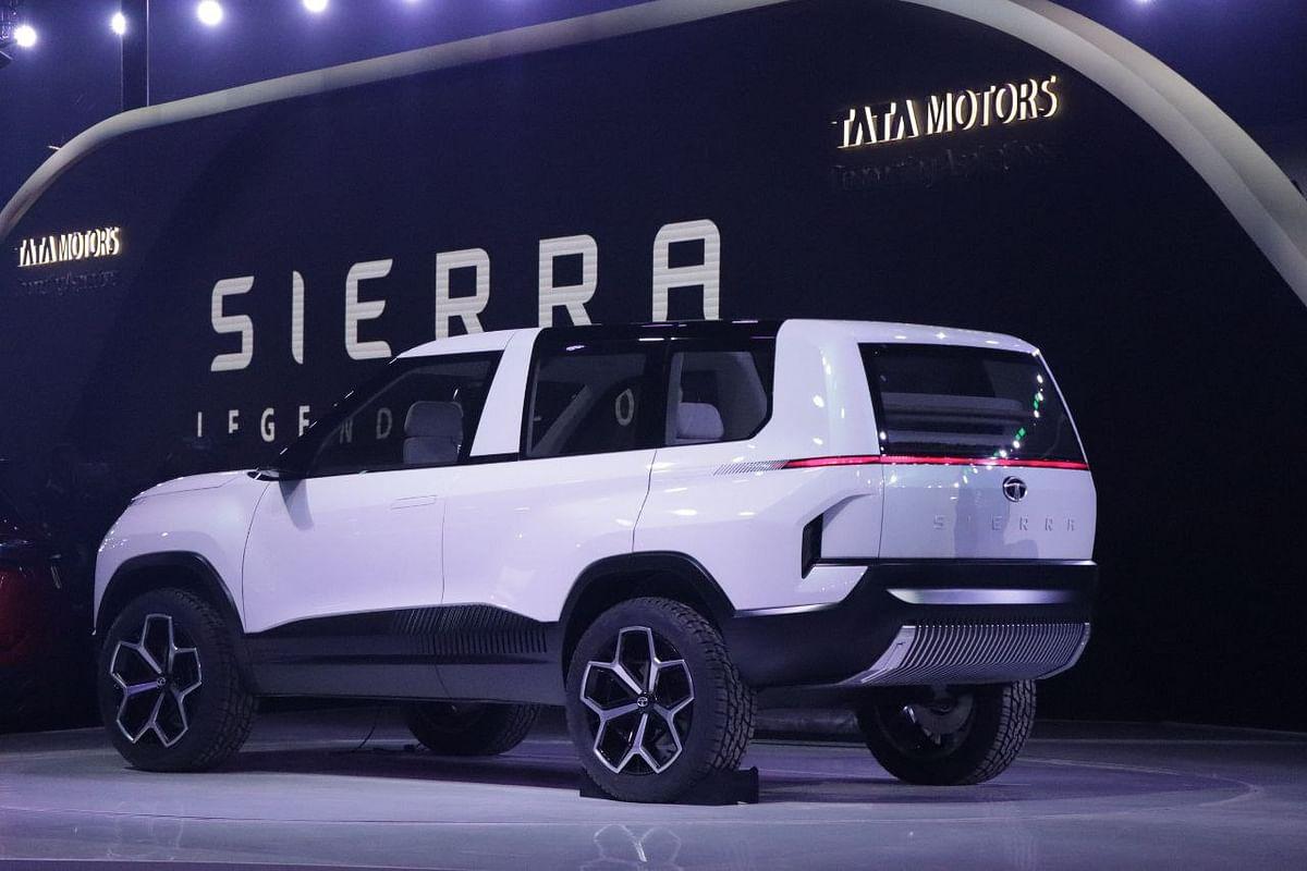 Tata sierra electric suv concept