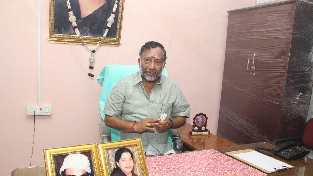 தேனி ஆவின் தலைவராகப் பொறுப்பேற்றுக்கொண்ட ஓ.ராஜா