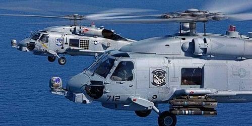 MH-60 ரோமியோ ரக ஹெலிகாப்டர்கள்