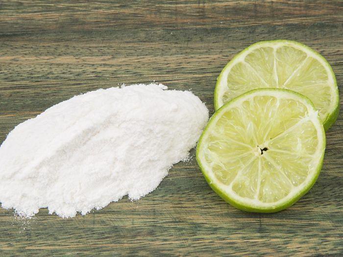 Lemon and Bakin soda