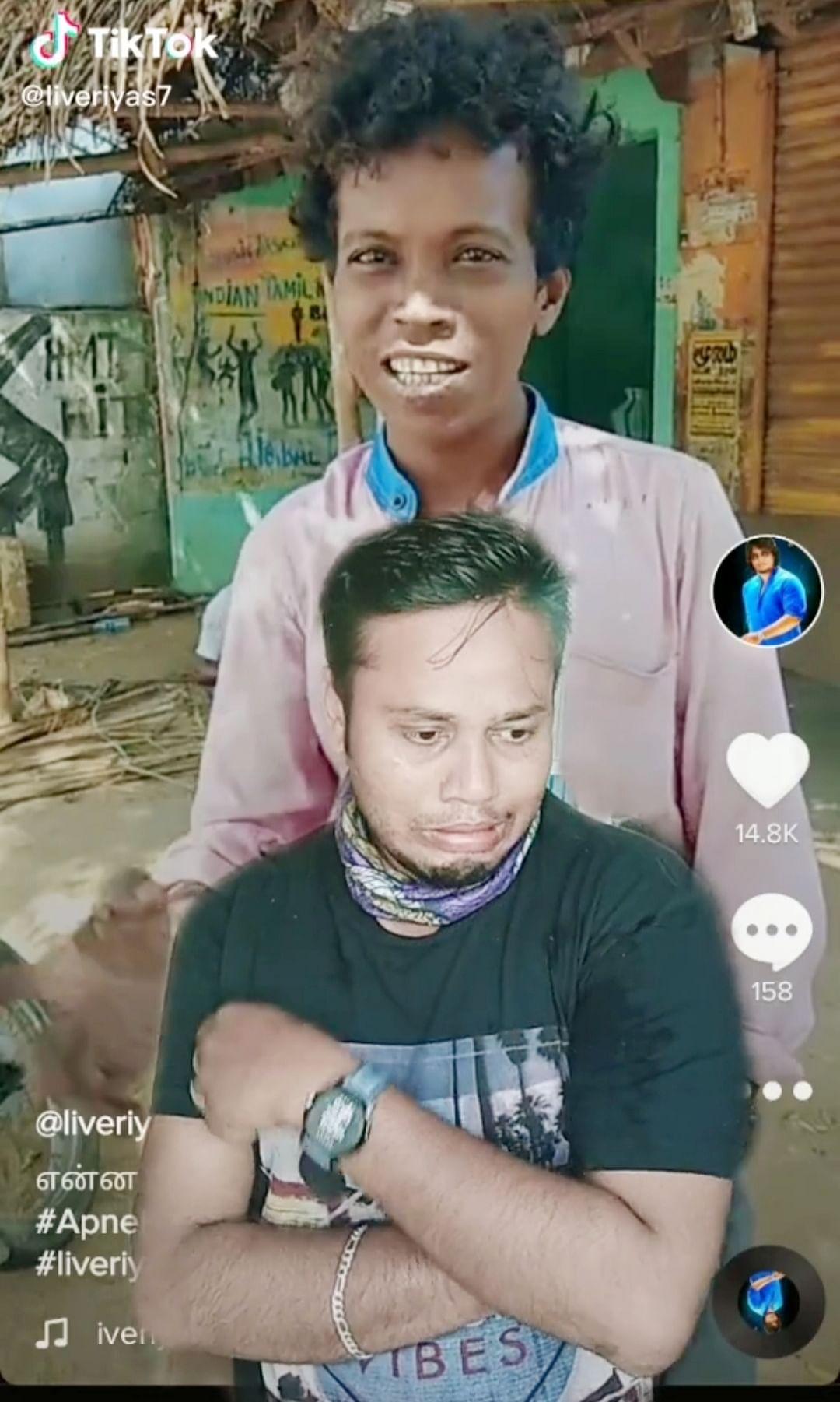 ரியாஸ் பதிவு செய்த வீடியோ